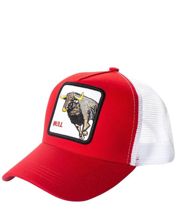 BULL Czapka z daszkiem trucker Hat animal