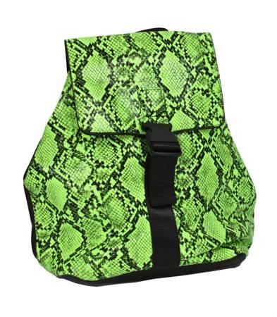 Designerski plecak ECO skóra węża NEON