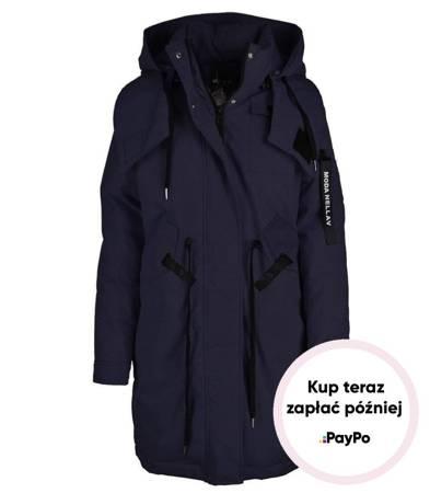 Kapitalny zimowy płaszcz CITY STYLE