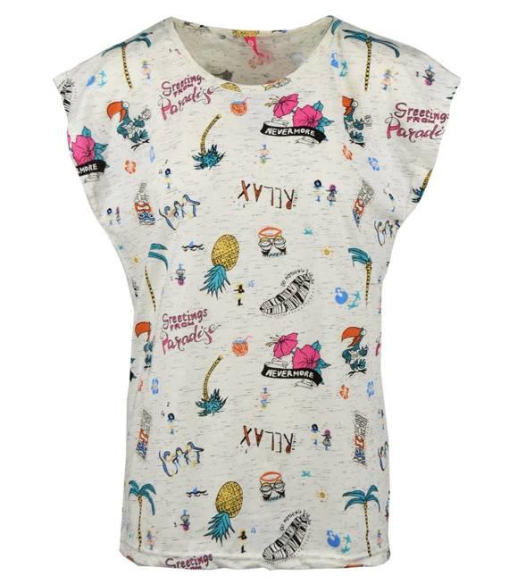 Klasyczna bluzka T-SHIRT paradise