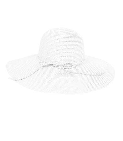 Modny kapelusz słomkowy duże rondo plażowy