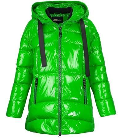 SUPER ciepła pikowana kurtka SPORT błysk